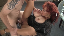Mature Redhead In Nasty Sex