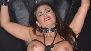 Claudia Valentine Tied Up Forced To Cum